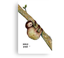 Hold Me Canvas Print