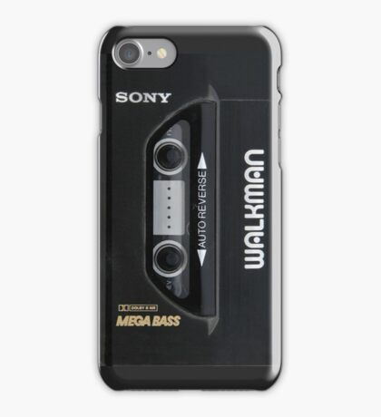 Sony walkman iPhone Case/Skin