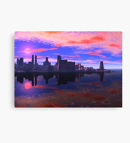 Greeb - Before the Dry Canvas Print