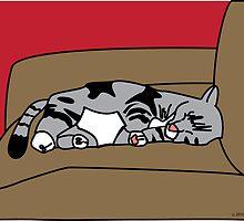 Sleeping Olivia by ValeriesGallery