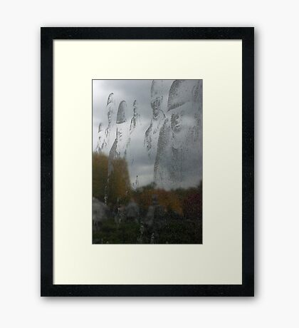 Reflections Of Some Gave All Series: Reflections On Seasons Past Framed Print