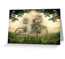 The Old Bicycle Greeting Card