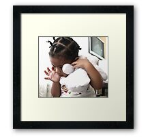 A Childs Secondary Refuge  Framed Print