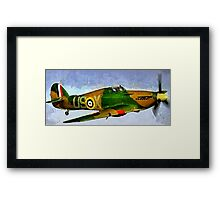WW2 Hawker Hurricane 1935 Framed Print