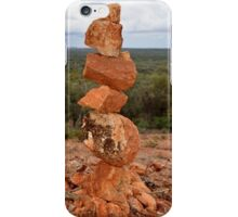 Rock Stack on the Bluff  (Yowah, South-west Queensland) iPhone Case/Skin