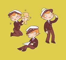 captain martin 'cutie' crieff by butterbear