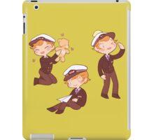 captain martin 'cutie' crieff iPad Case/Skin
