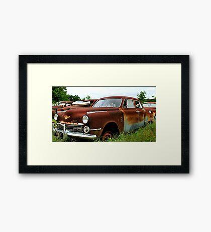 Metal Decay Land Cruiser Framed Print