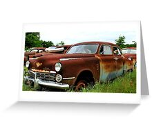 Metal Decay Land Cruiser Greeting Card