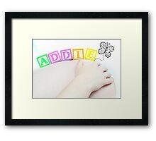 Addison Lee Framed Print