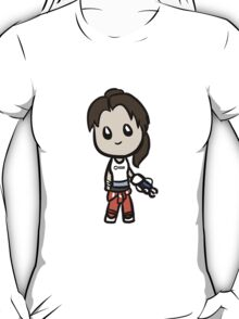 Cartoon Chell T-Shirt