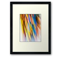 Multi-Colored Framed Print