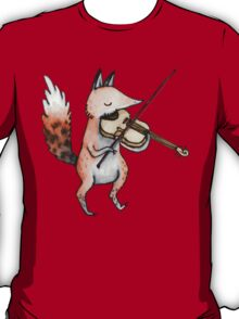 Violin Fox T-Shirt