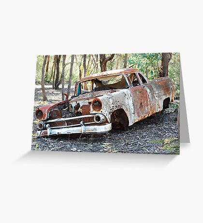 Abandoned And Left On Foot Greeting Card