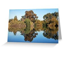 Reds and Golds of Autumn Greeting Card