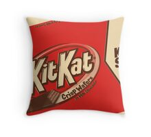 In Milk Chocolate Throw Pillow