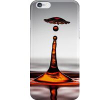Cool water drop splash umbrella iPhone Case/Skin
