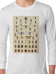 Entomology Insect studies collection  Long Sleeve T-Shirt