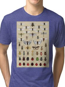 Entomology Insect studies collection  Tri-blend T-Shirt
