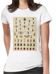 Entomology Insect studies collection  Womens Fitted T-Shirt