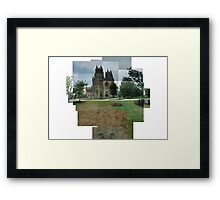 Capturing the National Cathedral Framed Print