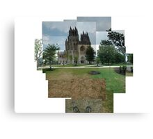 Capturing the National Cathedral Canvas Print