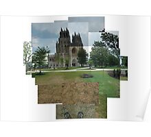 Capturing the National Cathedral Poster