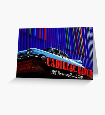 A Restaurant in Cincinnati Greeting Card