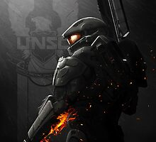 Halo 4 Master Chief - United He Stands by The5thHorseman