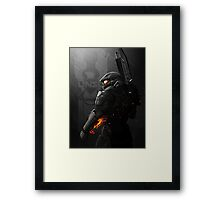 Halo 4 Master Chief - United He Stands Framed Print