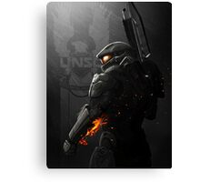 Halo 4 Master Chief - United He Stands Canvas Print