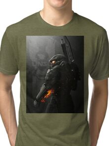Halo 4 Master Chief - United He Stands Tri-blend T-Shirt