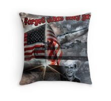 A Tribute Throw Pillow