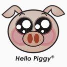 Hello Piggy t-shirt by sgame