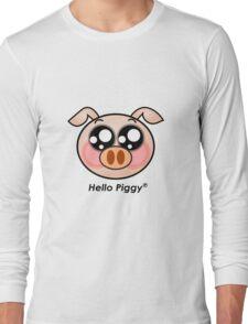 Hello Piggy t-shirt Long Sleeve T-Shirt