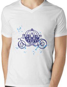 The carriage Mens V-Neck T-Shirt