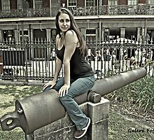 On the cannon by Turtle6