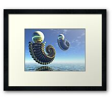 Pearl keepers -3 Framed Print