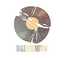 Make Music. Not War. Photographic Print