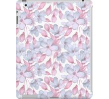 Pattern with delicate flowers iPad Case/Skin