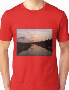 Sunset Over The Marsh Unisex T-Shirt