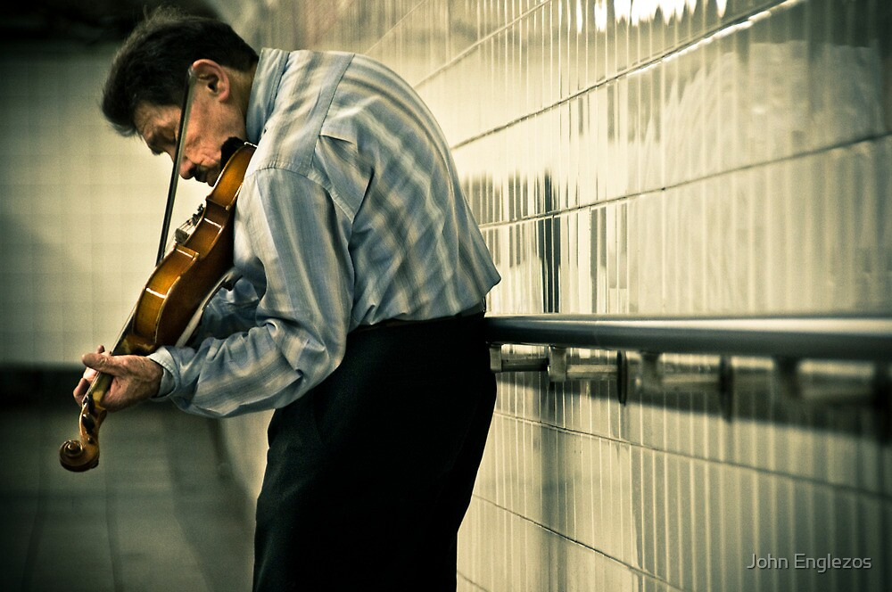 ...and I heard this beautiful music... by John Englezos