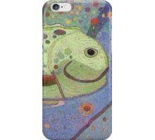 HAPPY UNDERWATER FISH iPhone Case/Skin