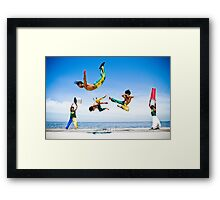 Capoeira - Warriors of Brazil Framed Print