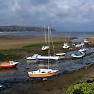 Abersoch Harbour,  Wales, UK by AnnDixon