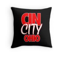 Cin City Throw Pillow