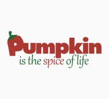 Pumpkin spice autumn humor Kids Tee