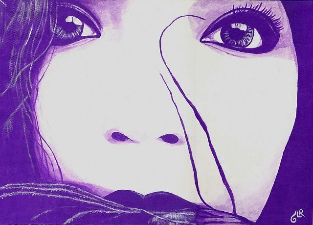 The whole world in her eyes by Luciana85