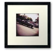 Ford Taxi Framed Print