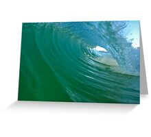 The Green Room Peregian Beach Greeting Card